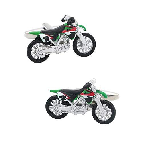 Drawihi. Gemelos Divertidos para Hombres Gemelos Estilo Motocicleta Creativos No Aburridos Se Pueden Combinar con Camisas Trajes