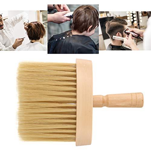 Cepillo para el polvo del cuello del peluquero, cepillo Cepillo de la herramienta de corte del pelo Cepillo del cuello Cuello del plumero de la cara Cepillo del salón Limpieza del cabello Cepillo