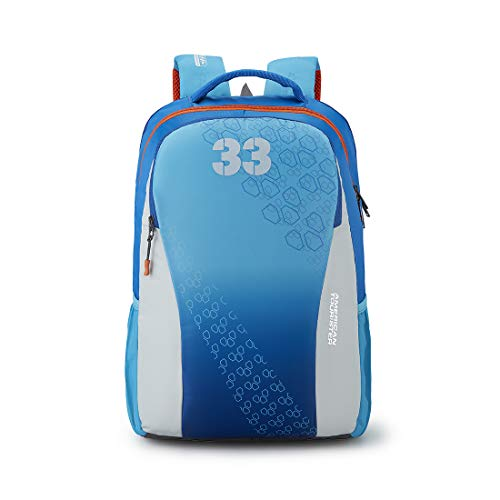 American Tourister Turf 33 Ltrs Blue Casual Backpack (FF0 (0) 01 003)