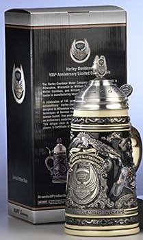 Traditional German Beer Stein - Harley Davidson Stein giftboxed Certificate 0.75L
