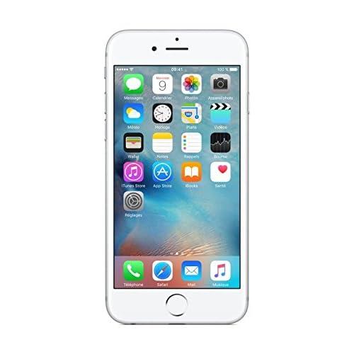 Apple iPhone 6s 64GB 4G Plata - Smartphone (SIM única, iOS, NanoSIM, Edge, gsm, DC-HSDPA, HSPA+, TD-SCDMA, UMTS, LTE) (Importado)