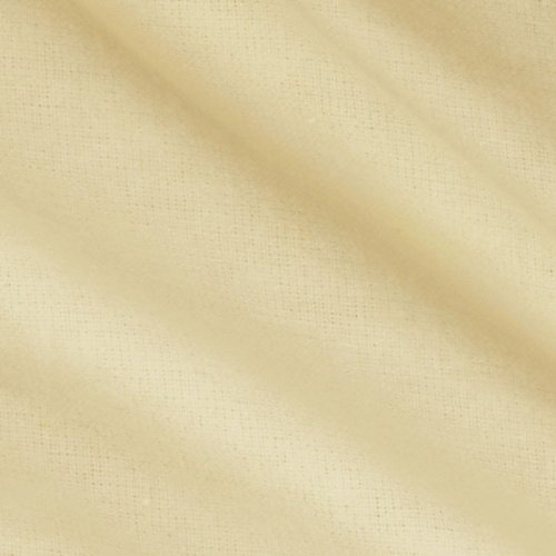 Kaufman Flannel Solid Natural, Fabric by the Yard