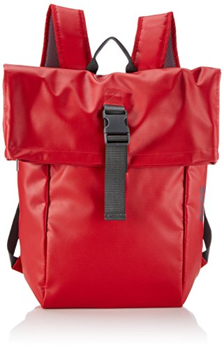 BREE Punch 93, Backpack, Sac messager Mixte Adulte, Rouge (red 152), 41x46x12 cm (B x H x T)