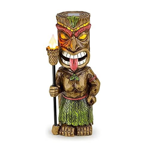 Grbewbonx Bonita luz de Fiesta Hawaiana exótica Luau, luz de tótem Maya Impresionante, decoración de Pared para jardín y casa, decoración Ligera, Luces para Fiesta