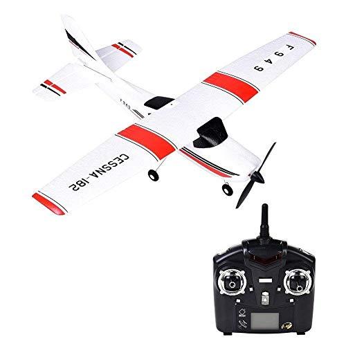 MUMUMI 2.4G Espuma EPP niños eléctrico de Control Remoto Planeador, de Carga USB de Interior/Exterior 3 del Canal RC de los Aviones, Navidad Niños Control Remoto Avión Regalo
