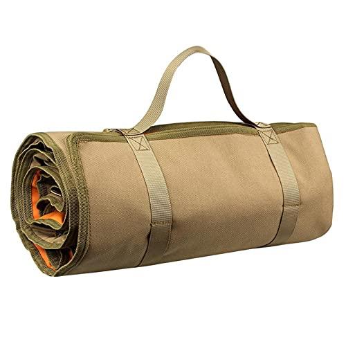 Taktische Schießmatte,Gerollte Schießmatte,Tactical Roll-Up-Gepolsterte Schießmatte,Rutschfestes,Langlebiges Schießzubehör für die Jagd,Jagdmatten für Schützen (Khaki)
