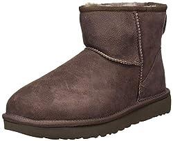 small UGG Ii Classic Mini Boots for Women, Chocolate, 9 B US