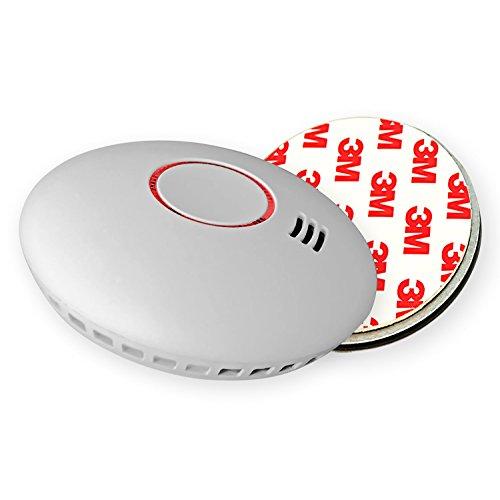 8X Nemaxx HW-2 Funkrauchmelder Rauchmelder Rauchwarnmelder Brandmelder Hitzemelder mit kombiniertem Rauch- und Thermosensor nach DIN EN 14604 + 8X Nemaxx NX1 Magnethalterung