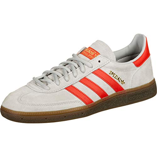 Adidas Handball Spezial Grey Two Hi-Res Red Gold Metallic 43