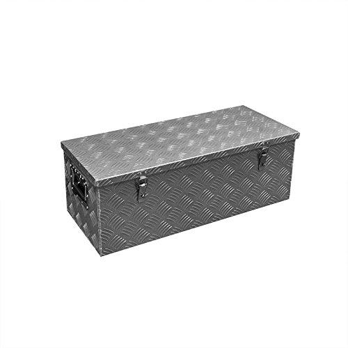 CG Car Professional 340103 Werkzeugbox Aluminium für Anhänger
