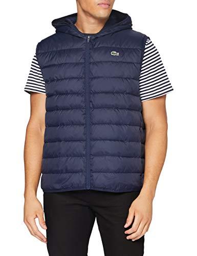 Lacoste Sport BH1552 Abrigo de vestir, Marino/Marina, 44 para Hombre
