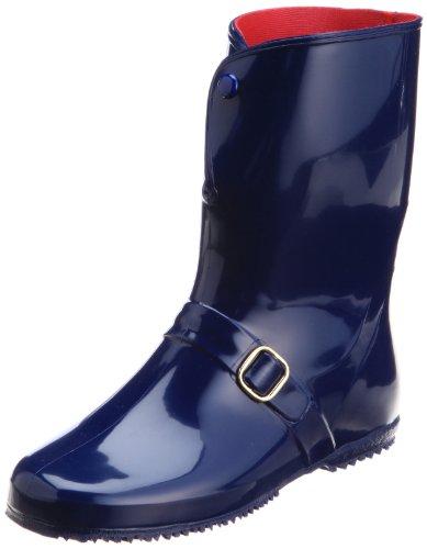 [アキレス] レインブーツ 長靴 作業靴 レインシューズ 日本製 E レディース RLB 4000 紺 24.5 cm E