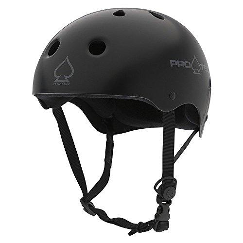 (プロテック) PRO-TEC CLASSIC SKATE MATTE BLACKヘルメット マットブラック プロテクター スケートボード スケボー sk8 skateboard BMX インライン【正規輸入品】 (L)