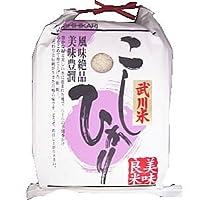【精米】山梨県産 「A」受賞 白米 武川米 こしひかり 10kgx2袋 令和元年産