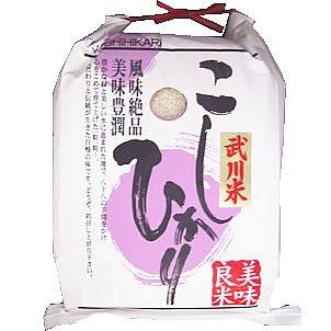 【玄米】山梨県産 玄米 武川米 こしひかり 5kg(長期保存包装)x4袋 令和2年産 新米