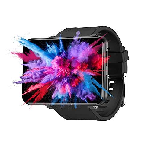 e-tsuhan [フェイスロック解除] TICWRIS MAX 2.86インチHDスクリーンスマートウォッチ3G + 32G 4G-LTE 2880mAhバッテリー容量8MPカメラGPSウォッチフォン S201623129 (ブラック) [並行輸入品]