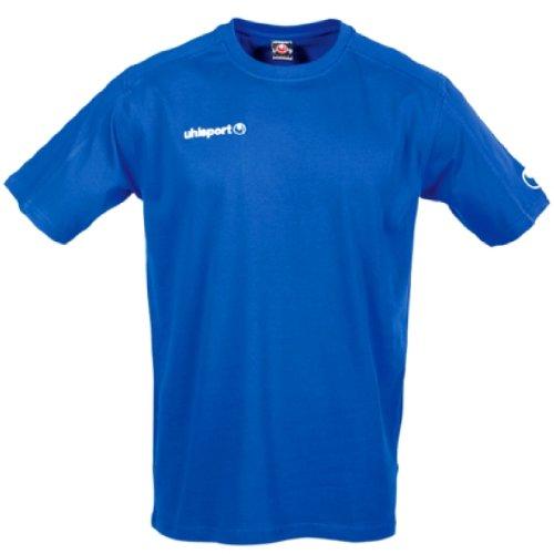 uhlsport-T-Shirt-Bleu Roi-Taille XXS/XS/S Bleu Marine XS