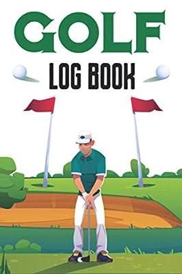 Golf Log Book Journal