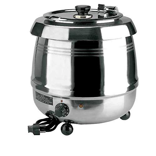 Lacor 69038 - Olla calentador sopa electr.inox 10 ltos