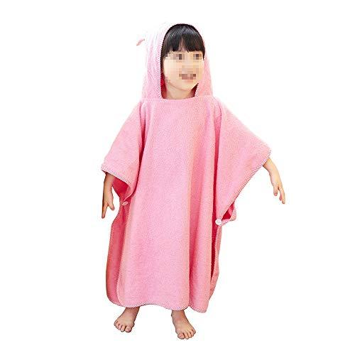 Kids Poncho Handdoek Badjas Organisch Katoen Kinderen Baby Wetsuit Badpak Veranderende Handdoek Strand Badjas Strand Hooded Badhanddoek Voor Unisex Children's Bad Handdoeken