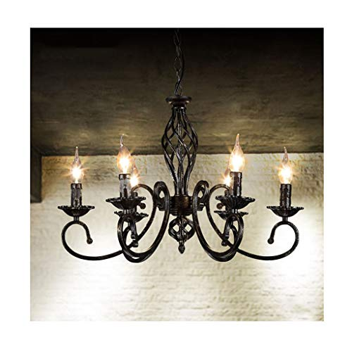 LJF Lampe . Moderna vela minimalista con 6 cabezales, para salón, comedor, dormitorio