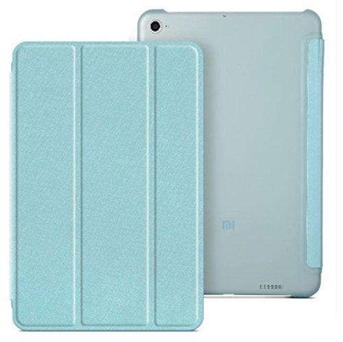 Prevoa® 丨 Flip PU Funda Cover Case Protictive Carcasa para Xiaomi Mi Pad 2/ Xiaomi Mi Pad 3 - Azul