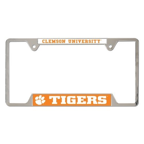 Auto Supply Mall NCAA Clemson University Metal License Plate Frame TeamName: Clemson University, Model: 21468010, Car & Vehicle Accessories/Parts