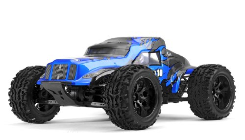 Exceed Racing Legion 1/10 Scale Monster Truck Ready to Run 2.4ghz (DD Blue)