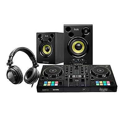 Hercules DJ Learning Kit inc Inpulse 200 Controller & Monitor Speakers