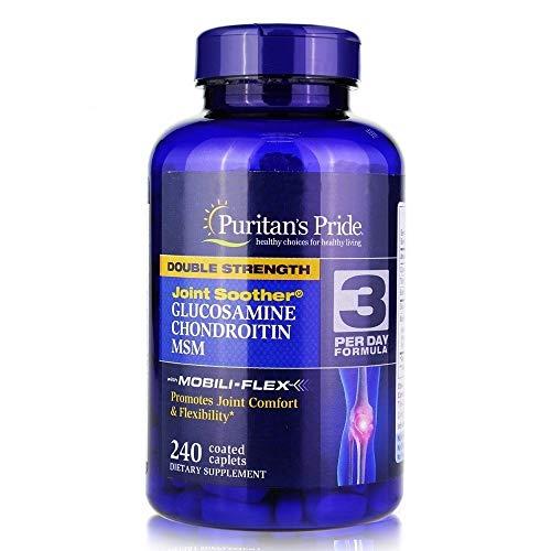 Puritan's Pride Glucosamina Condroitina Msm 240 Comprimidos
