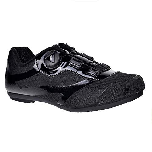 LIXIYU Scarpe in Bicicletta della Strada di MTB Cycling Shoes Mountain Bike Scarpe Traspiranti in Bicicletta Spinning Scarpe Non bloccabile Esterna Traspirante Anti-Skid,Black-41