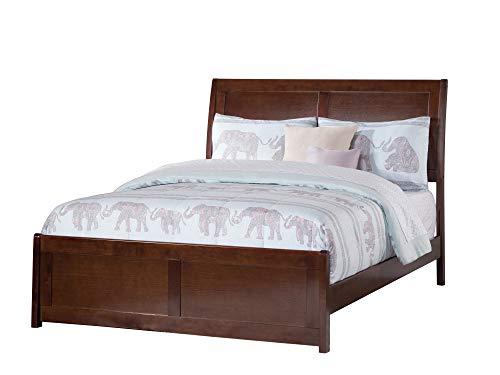 Atlantic Furniture AR8936034 Portland Bed, Full, Walnut