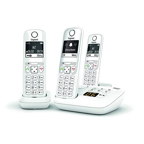 Telefono Fisso GIGASET AS690 A Trio Bianco