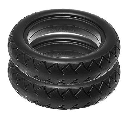 SODIAL 2 Stück Roller Reifen Vakuum Solide Reifen 8 1 / 2X2 Für Mijia M365 Elektrisches Skateboard