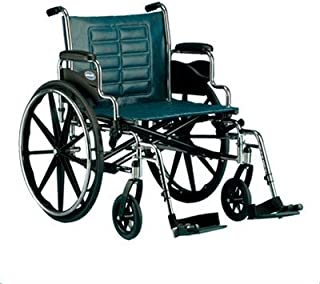 Invacare T424RDAP Tracer IV Wheelchair with Heavy Duty Wheels, 24