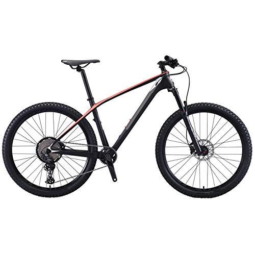 yfkjh Bicicleta de montaña marco de fibra de carbono 29 pulgadas para adultos bicicleta MTB carbono plegable bicicleta de montaña