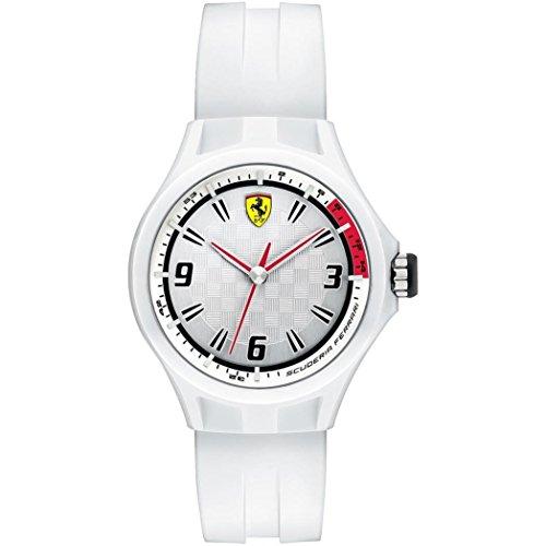 Ferrari - Orologio solo tempo unisex Ferrari in policarbonato e silicone