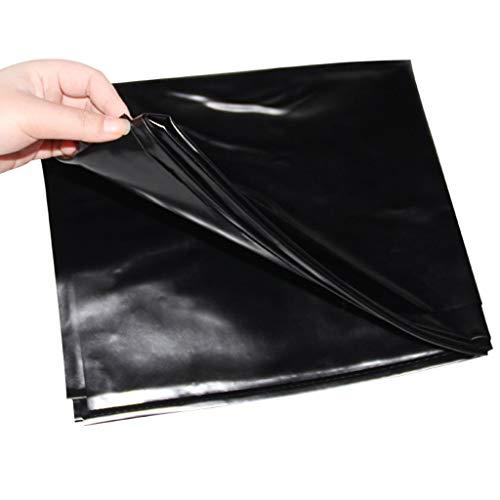 JPOYT-O Inkontinenzbettlaken Unterlaken Matratzenauflage Inkontinenzbezug Inkontinenzbettlaken auch für Kinder ab, PVC, Schwarz, 2.2x1.3cm