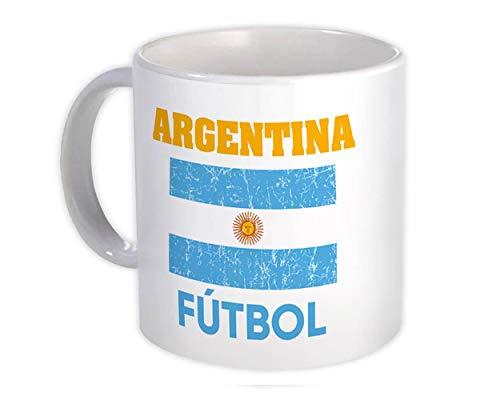 Argentina : Regalo Tazza : Distressed Flag Soccer Futbol Team Paese argentino