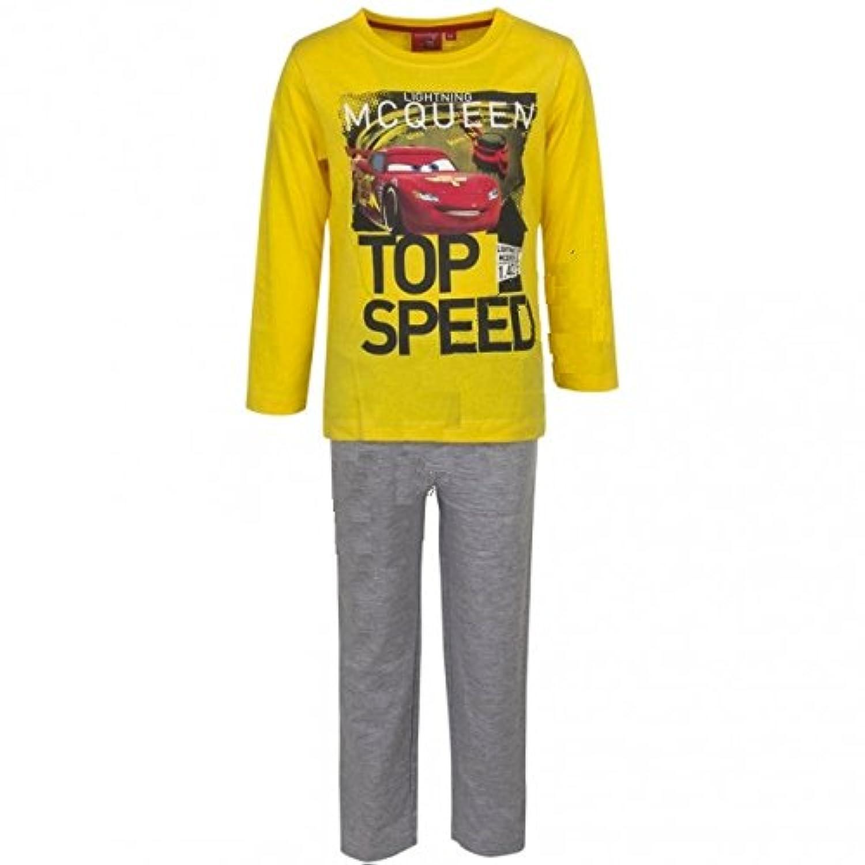 Disney Cars ディズニー カーズ Tシャツ パジャマ 長袖 上下セット 子供用 2051 [並行輸入品]