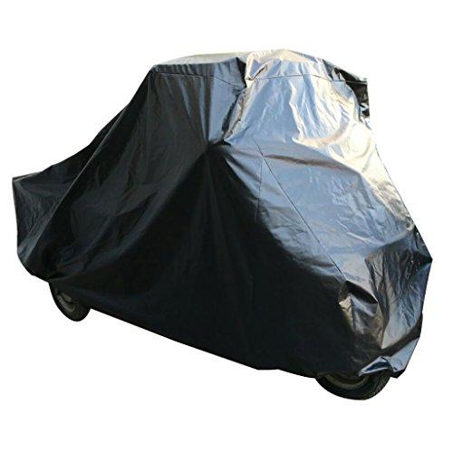 Garage pieghevole nero per Ape 50Garage Outdoor carro