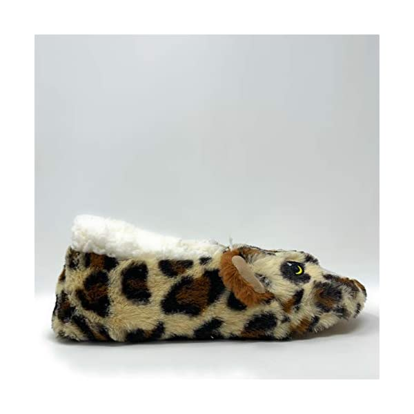 Oooh Yeah Socks Funny Fluffy Animal Womens Sherpa Slippers