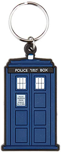 Funko Pop Keychain-RD-RS660131 Dr Doctor Who - Llavero de goma Tardis, Multicolor, Talla única...
