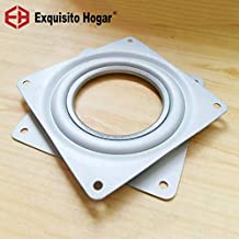 New Fitting 4'' Small Exhibition Turntable Bearing Swivel Plate Lazy Susan! Great For Mechanical Projects!