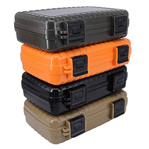 MecArmy B20 EDC BOX, Tool Storage Boxes, Flashlight Organizer Boxes (Army Green) Maryland