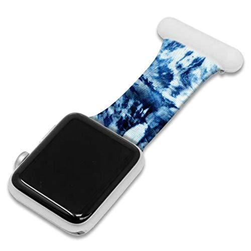 Pulsera de reloj para Apple Watch Band Series 6/5/4/3/2 Correa de silicona para enfermera Broche Pulsera para iWatch Correa 38mm 42mm 40mm 44mm