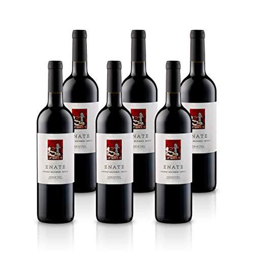 6x Enate Cabernet Sauvignon - Merlot 2017 - Weingut Enate, Somontano - Rotwein