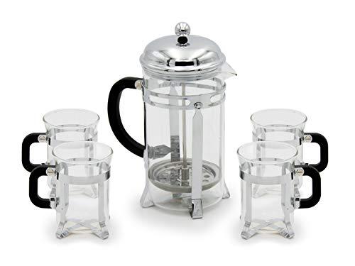 cafetera 4 tazas acero de la marca BAUM BROTHERS