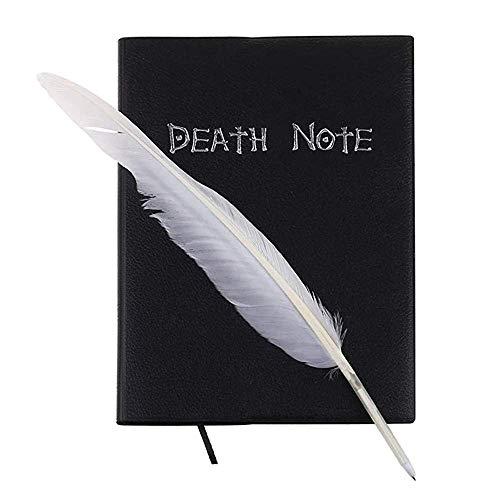 Ouken Anime Tema Death Note Notebook Cartoon Cosplay Prop con Piuma, con Penna