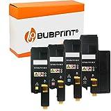 Bubprint Kompatibel Toner als Ersatz für Epson C13S050614 C13S050613 C13S050612 C13S050611 für Aculaser C1700 C1750N C1750W CX17 CX17NF CX17WF BK/C/M/Y 4er-Pack